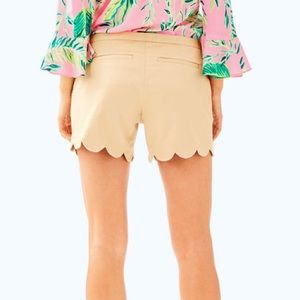 Lilly Pulitzer Gold Metallic Buttercup Shorts